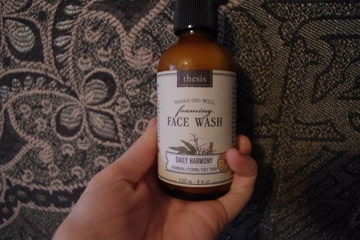 thesis beauty foaming face wash review