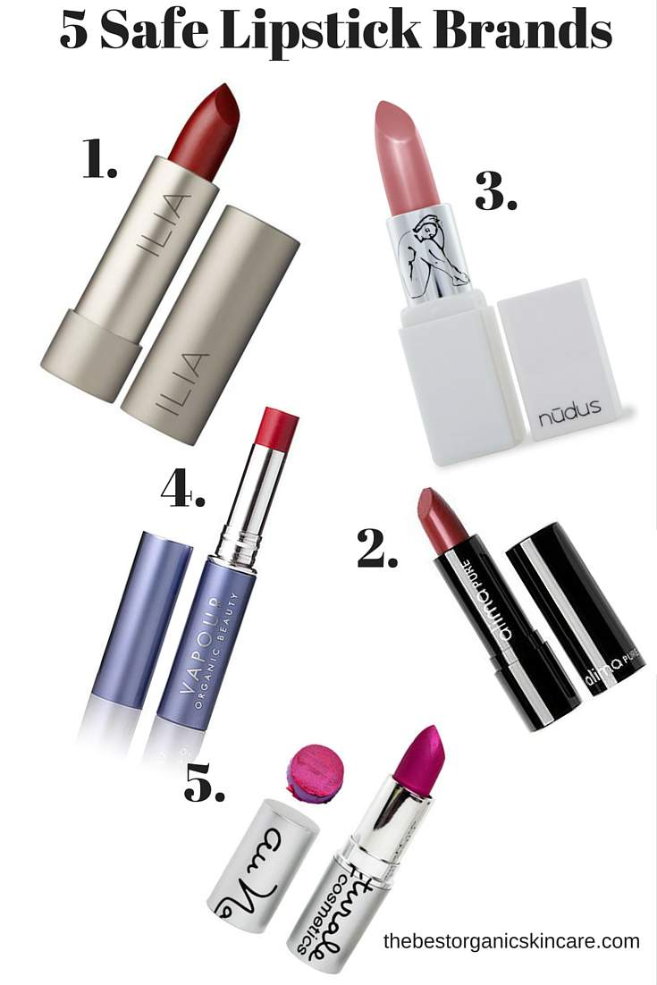 5 Safe Lipstick Brands – Yes You Can Still Have Beauty