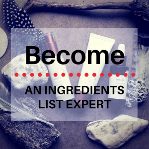 Become an ingredients list expert