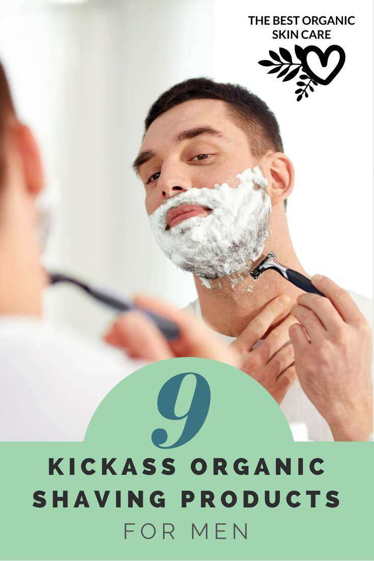 organic shaving products for men