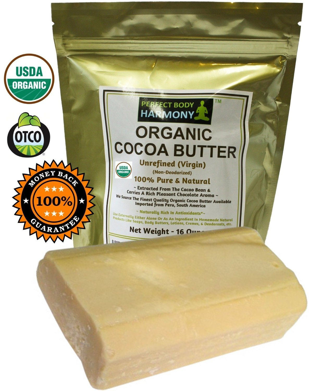 the best organic cocoa butter