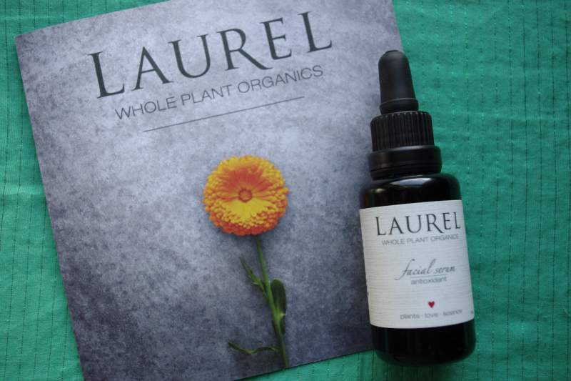 laural whole plant organics antioxidant serum review