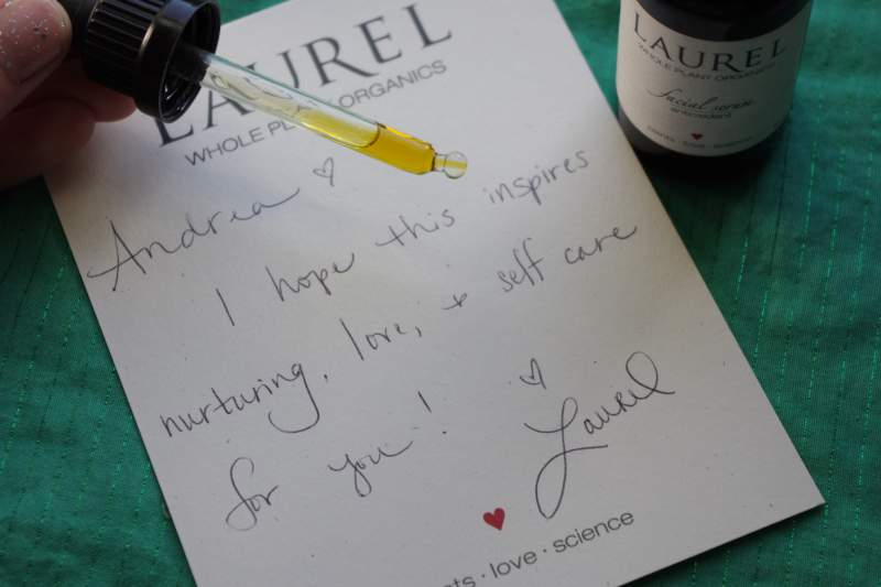 laurel antioxidant serum review