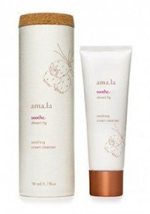 amala beauty soothing cream cleanser