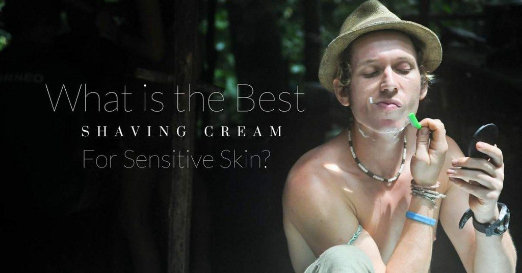 mens sensitive skin shaving cream
