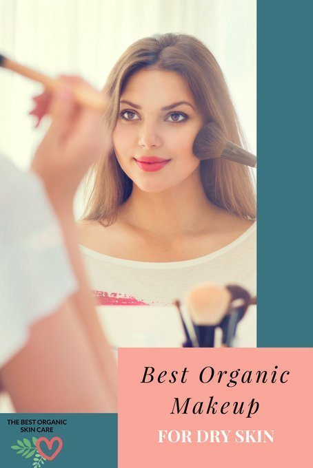 best organic makeup for dry skin