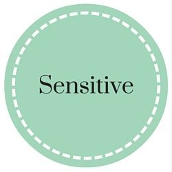 sensitive skin button