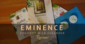 eminence coconut milk cleanser review featured image