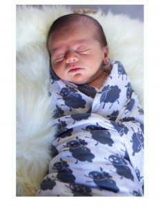natural and organic baby gifts - swaddle blanket