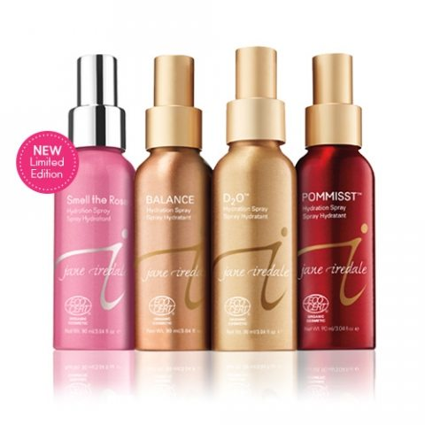 Jane Iredales hydration Spray Collection review