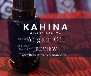 kahina giving beauty argan oil review featured image