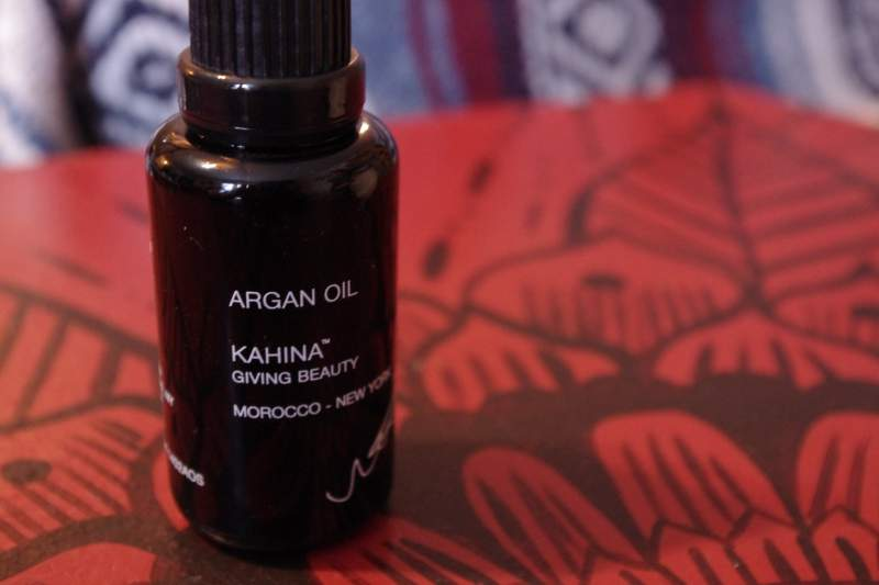 kahina giving beauty argan oil review