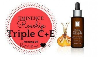 Eminence Rosehip Triple C+E Firming Oil Review