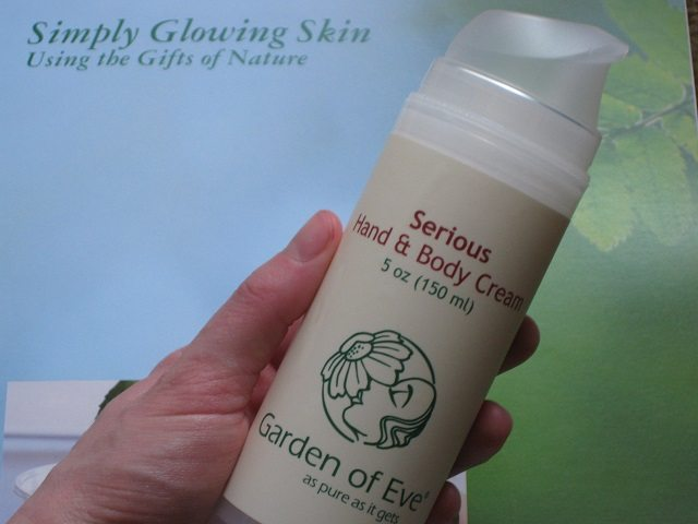 Garden of Eve hand and body cream review