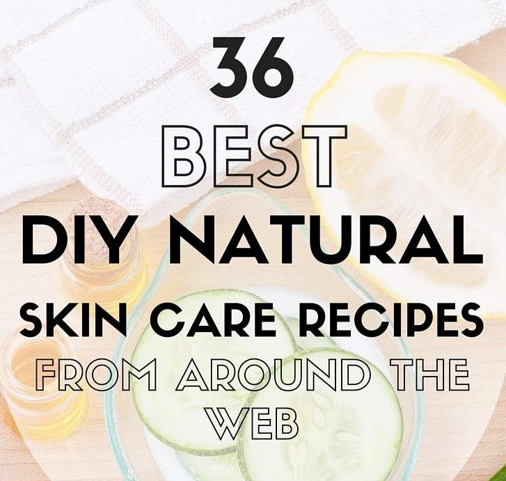 best natural skin care recipes featured image