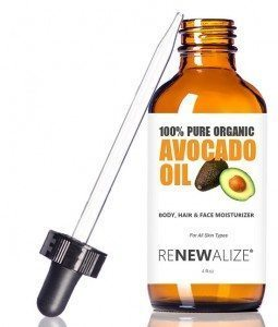 Avocado oil for dry skin
