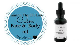 Tamanu Oil Lab Calm Face and Body Oil Review