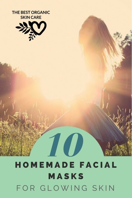 10 homemade masks for glowing skin