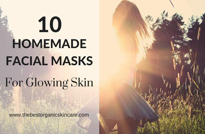 homemade facial masks for glowing skin