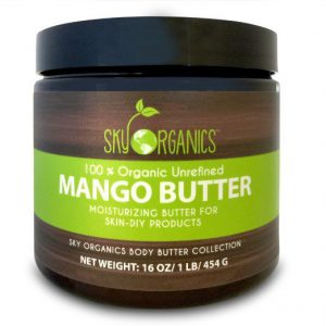 mango butter skin and hair benefits - recommended mango butter