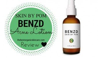 skin by pom natural benzoyl peroxide acne treatment