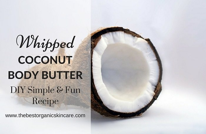 Whipped coconut body butter recipe
