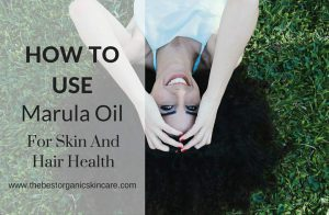 how to use marula oil