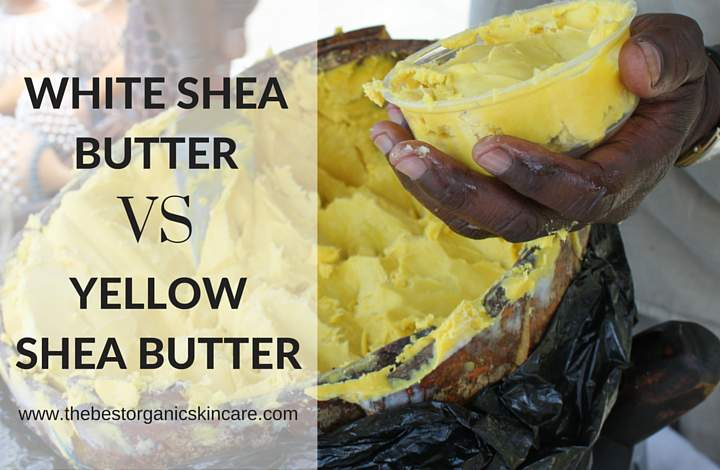 white shea butter different than yellow shea butter