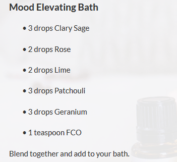 top essential oils for aging - rose recipe
