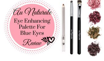 Au Naturale Cosmetics Eye Enhancing Palette For Blue Eyes Review