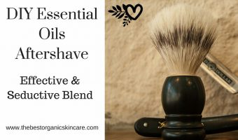 DIY Aftershave with Essential Oils