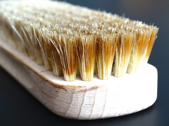 tips for aging hair - Using a boar bristle brush for aging hair