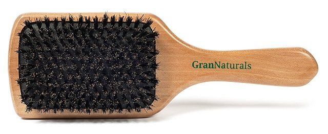 benefits of a boar bristle brush