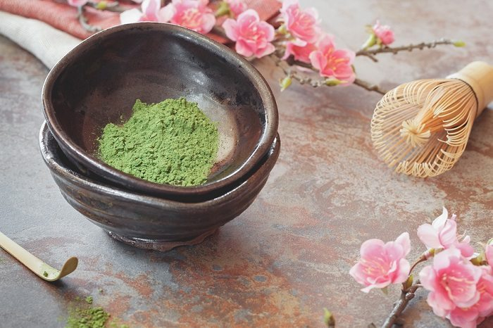 Matcha Green Tea skin care benefits