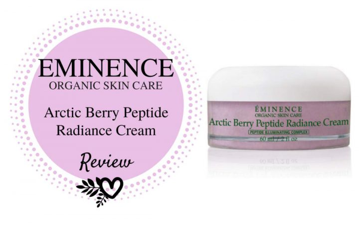 Eminence Organics Arctic Berry Peptide Radiance Cream Review