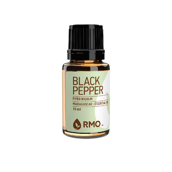 best essential oils for men -  black pepper essential oil