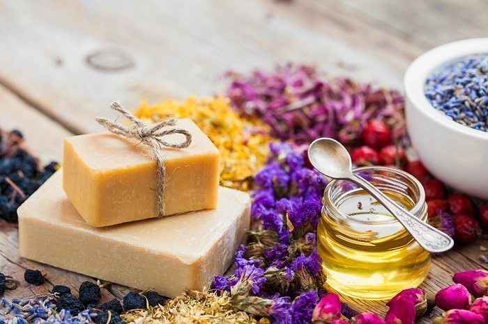 natural organic soap for sensitive skin
