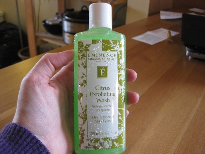 eminence citrus exfoliating wash review