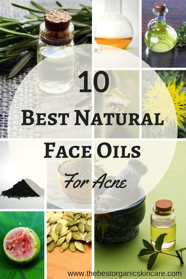 10 best facial oils for acne