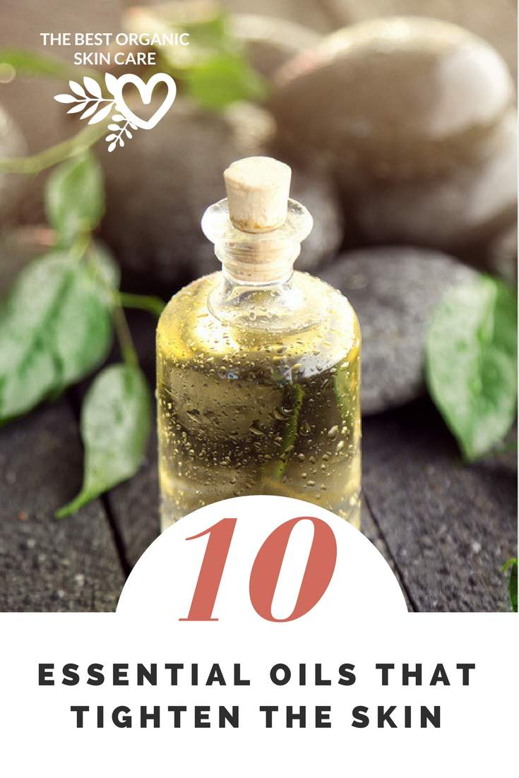 Essential oils that thighten the skin