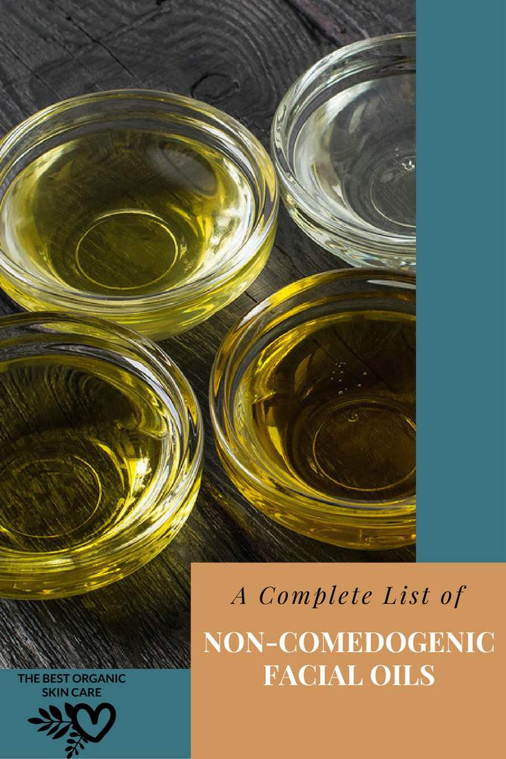 complete non-comedogenic facial oil list