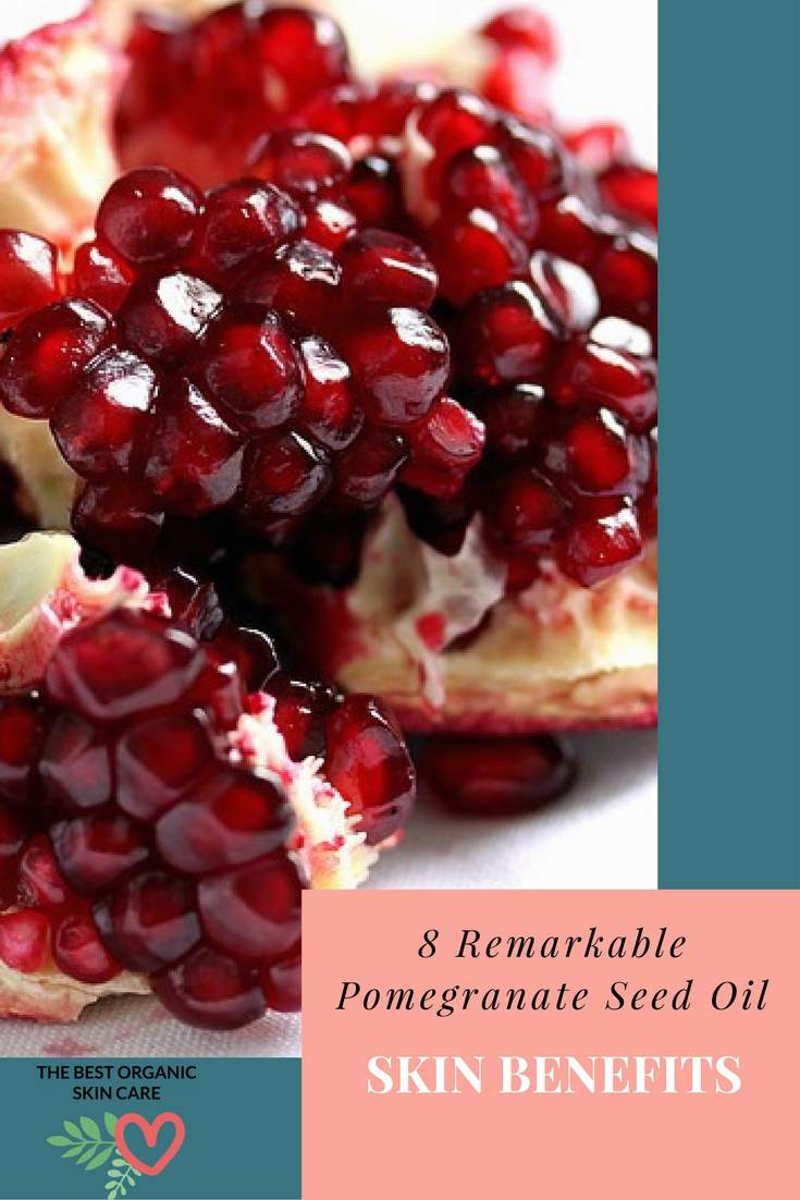 pomegranate seed oil skin benefits