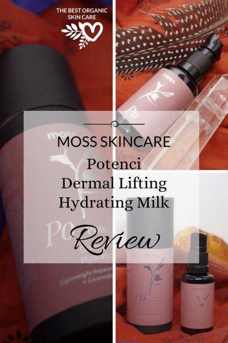 moss skincare potenci dermal lifting hydrating milk review