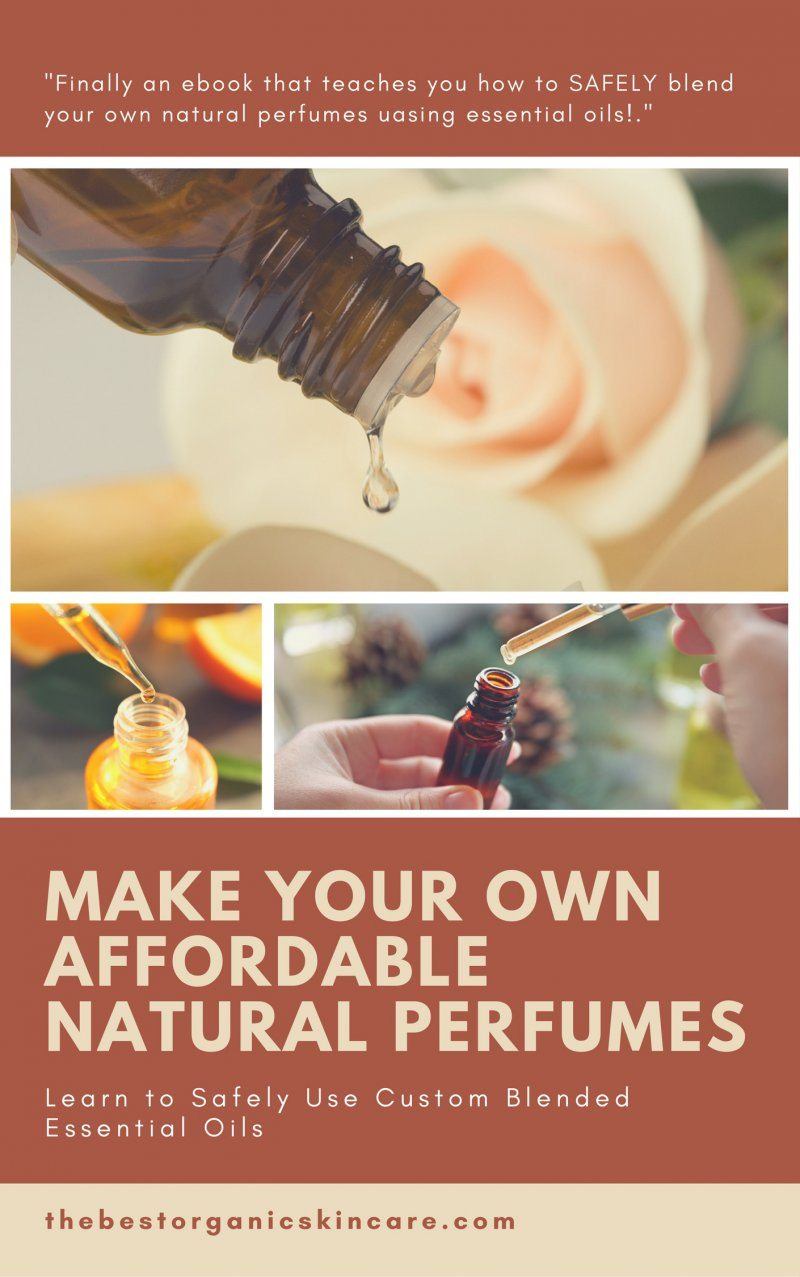 Make Your Own Affordable Natural Perfumes ebook cover