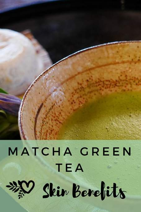 matcha skin care benefits