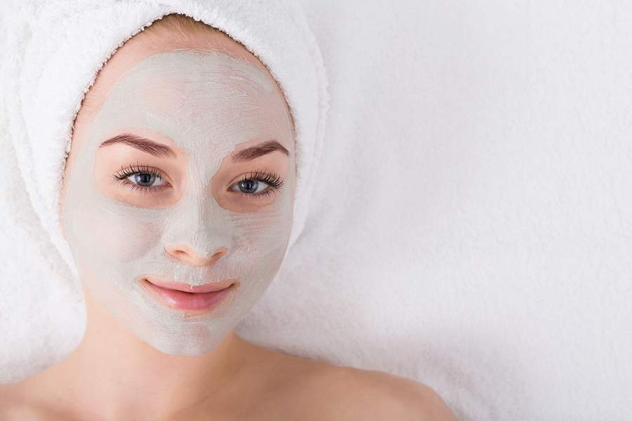 organic skin care for sensitive skin - masks