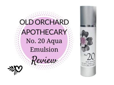 Old Orchard Apothecary Aqua Emulsion Review
