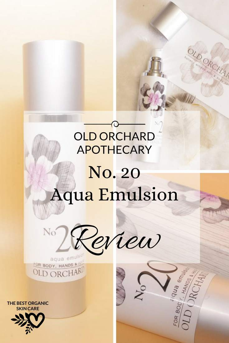 old orchard apothecary no. 20 aqua emulsion review