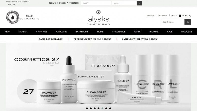 best places to shop for organic skin care - alyaka
