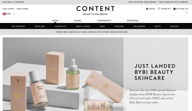 best places to shop for organic skin care - content beauty and wellbeing